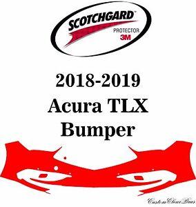 3M Scotchgard Paint Protection Film Clear Bra Pre-Cut Kit 2018 2019 Acura TLX
