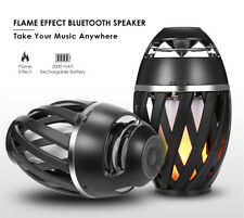 Bluetooth Speaker - LED Flame Effect - 96 LED - Portable Audio