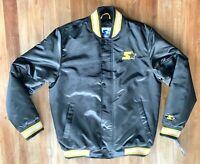 NWT Starter Embroidered Satin Varsity Bomber Jacket $225 Mens Size Medium