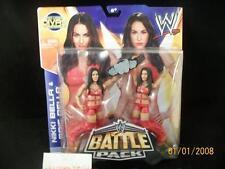 2013 WWE Battle Pack #26 NIKKI and BRIE BELLA Twins Divas Championship Belt SP