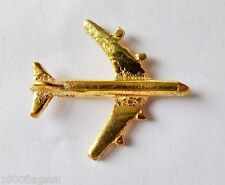 Boeing 747 Small Gilt Pin Badge - FG5