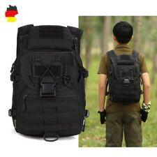 Bundeswehr Tasche Reise Rucksack Schulrucksack Outdoor Army Assault Pack Schwarz