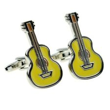 Acoustic Guitar Music Instrument Cufflinks X2AJ057