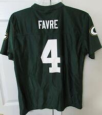 NFL Green Bay Brett Favre #4 Replica Jersey Youth XL (18-20) EUC