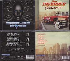 2 CD, Sapphire Eyes Debut (+1) + Theander Expression-Strange nostalgia (2013)