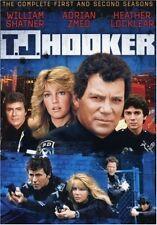 TJ Hooker Seasons 1 + 2 Series One Two Region 1 T.J. New DVD (6 Discs)