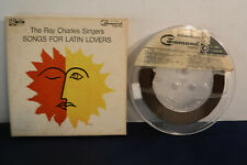 Ray Charles Singers, Songs For Latin Lovers, Command C 886, 4 track 7.5 IPS Reel