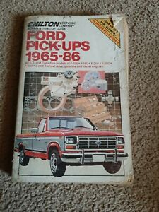 Service Repair Manuals For 1986 Ford F 150 For Sale Ebay