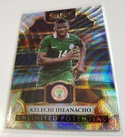 2017-18 Panini Select Soccer Equalizers & Unlimited Potential Inserts - Choose