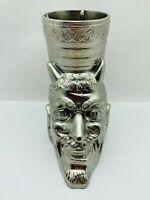 Pencil holder Metal Devil Demon Soviet Ashtray Mephistopheles Halloween USSR VTG