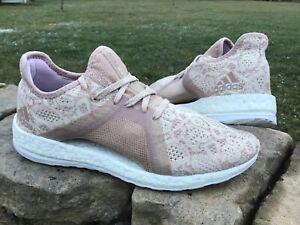 Women's size 9.5 ADIDAS PureBoost X Element running shoes