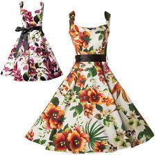 Rockabilly 50s Vintage Evening Swing Dance Party Pinup Dress AU sz  8 - 26 plus