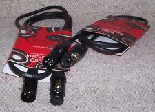 ROLING'S Coppia CAVI MICROFONO Cavo Bilanciato da 1,5mt CANNON XLR Maschio-Femm.