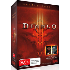 Diablo III 3 Battle Chest Rare Game + Reaper Of Souls Expansion Set For PC