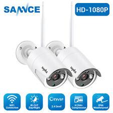 SANNCE 2x Full 1080P Video Wireless Security Camera IP Network IR Night Vision