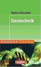 Pocket Thema: Gentechnik von Kleesattel, Dr. Walter | Buch | Zustand sehr gut