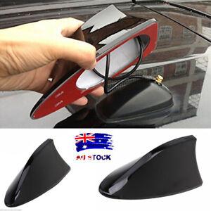 Black Universal Auto Car Roof Radio AM/FM Signal Shark Fin Aerial Antenna