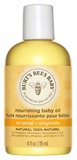 Burt's Bees Baby 100% Natural Nourishing Baby Oil Baby Skin Care - 115ml Bottle,