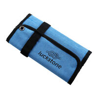 Blue Durable Quick Roll up Bag for Climbing Ice Screws Protection & Storage