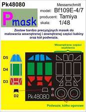 MESSERSCHMITT Bf-109 E-4 PAINTING MASK TO TAMIYA KIT #48080 1/48 PMASK