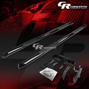 "3""BLACK STEP NERF BAR RUNNING BOARD KIT FOR 10-17 CHEVY EQUINOX/GMC TERRAIN SUV"