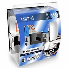 Lunex Platinum White 4000k H1 Headlight Bulb x2