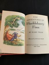 The Adventures of Huckleberry Finn by Mark Twain 1948, Ill. by Donald McKay