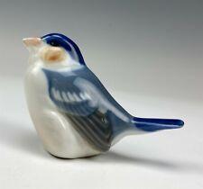 Royal Copenhagen Denmark Finch # 1040 Danish Porcelain Painted Bird Figurine 007