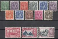 C2911/ BRITISH ST LUCIA – GVI – 1938 / 1948 MINT MH LOT – CV 125 $