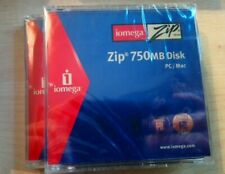 Iomega Zip 750mb Disk PC/MAC in Jewel case new sealed, price inc.vat 2 Available