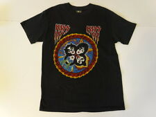 Vintage 70s 80s Original KISS ROCK AND ROLL OVER Band Concert Music T-shirt sz L