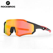 RockBros Photochromatic Polarized Lens Cycling Glasses Eyewear Sunglasses New