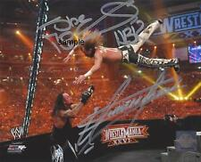 SHAWN MICHAELS UNDERTAKER REPRINT 8X10 AUTOGRAPHED SIGNED PHOTO PICTURE WWE RP
