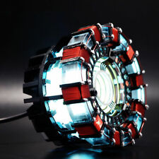 Marvel The Avengers Iron Man Tony DIY Arc Reactor Lamp Kits Or Builted Xmas gift