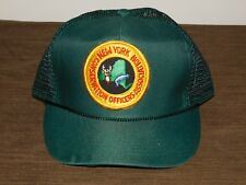 POLICE BASEBALL CAP HAT NEW YORK STATE CONSERVATION OFFICERS ASSOC  NEW UNUSED