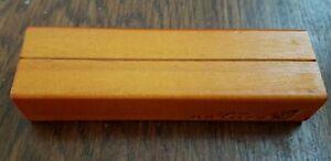 Wooden menu holder x 10