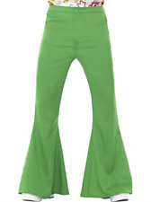 Flared Trousers, Mens, Green -  (Size: Chest 42`-44`, Leg (US IMPORT) COST-M NEW