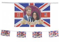 Royal Wedding Bunting 2018 Prince Harry 12ft 8 Flags Souvenir Party Decoration