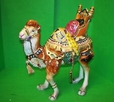 Fitz & Floyd Nativity Nubian Camel Standing Figurine Christmas 19/214 With Box