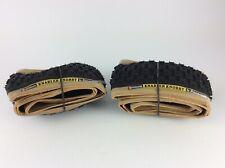 "Panaracer BLACK 'Knarler Knobby' Tyre Pair 20"" x 1.75 - Old School BMX"