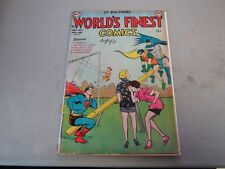 Worlds Finest Comics #61 Comic Book  Joker Story 1952