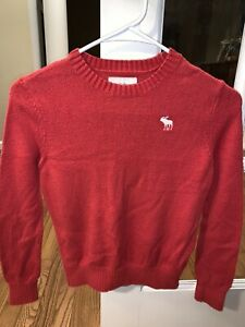 Abercrombie Kids Red Sweater Boys Small 10