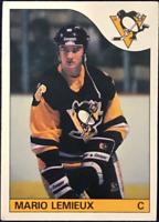 Mario Lemieux 1985 O-Pee-Chee Rookie Card #9