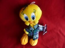 "New! Warner Brothers Looney Tunes ""Tweety Nightshirt 8"" Bean Bag Plush"