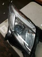 Driver Left Headlight Without Adaptive Headlamps Fits 13-17 XTS 510076