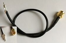 TMP-K01X-A1 to SMA Male Connector 25cm Pigtail RG174 Cable