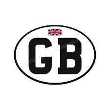 "GB DIGITALLY CUTOUT VINYL STICKER.CAR,CARVAN,TRAILER,MOTORCYCLE 5"" X 4"" SIZE"
