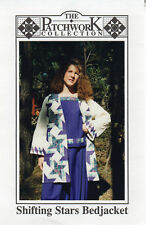 """©1995 The Patchwork Collection Sewing Pattern PWC136 """"Shifting Stars Bedjacket"""""""