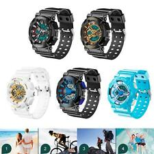 Baby Kids Boys Girls Sport Waterproof LED Watch Electronic Digital Wrist Watches