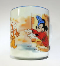 Disney's Fantasia Coffee Mug Cup Mickey Mouse Sorcerer's Apprentice Disneyland